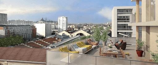 Paris 19ème : résidence étudiante